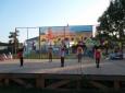 участие в праздничной программе в парке